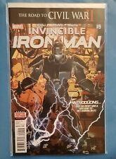 Invincible Iron Man (2nd series) #9 - 1st Full App of Riri Williams NM 1st Print