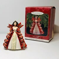 Hallmark Keepsake HOLIDAY BARBIE 5th In The Ornament Collector's Series 1997