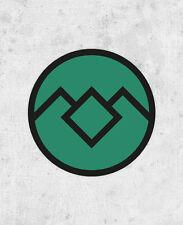 Twin Peaks 'Black Lodge' Sticker, david lynch, agent cooper, laura palmer laptop