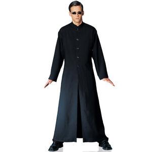 Male The Matrix Film Neo Cybe Man Cosplay Party Mens Fancy Dress Uniform Costume
