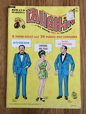 New ListingRowan & Martin's Laugh-In Paper Dolls Uncut 1969 Saalfield Publishing