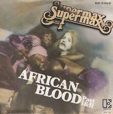 7inch SUPERMAXafrican bloodHOLLAND  (S2320)