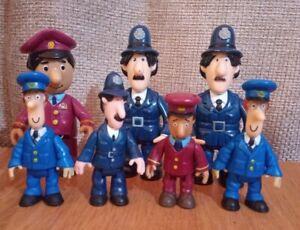 7 x Postman Pat Figures ER PLC 2005-2008 Figure Bundle