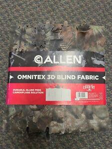 "Allen Omnitex 3D Leafy Break-UP Country Mossy Oak 12' X 56"" Camo Blind Fabric"