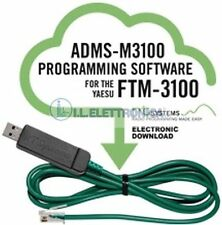 ADMS-M3100-U SOFTWARE GESTIONE CON CAVO USB 29 PER RTX YAESU FTM-3100 REF 700029