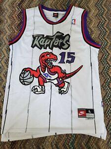 NBA Vince Carter Toronto Raptors home Jersey Nike preowned Men's sz Large