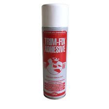TRIM FIX 1 x500ml High Temperature Adhesive Spray Glue car Van Lining carpet t5