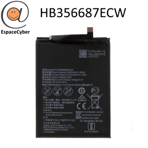 Battery HB356687ECW For Huawei P30 Lite Matt 10 Lite - Honor 7X/9I - Nova 2+