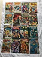 Silver/Bronze Age Comic Lot 16pcs  Marvel DC Superboy Teen Titans Spider-Man etc