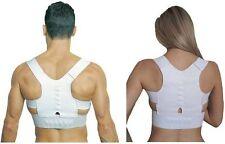 Unisex Adjustable Power Magnetic Shoulder Posture Corrector Support Vest back