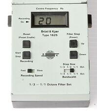 Bruel & Kjaer Type 1625 1/3-1 Octave Filter Set for Sound Level Meter