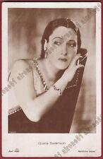 GLORIA SWANSON 15 ATTRICE ACTRESS CINEMA MUTO SILENT MOVIE Cartolina FOTOGRAFICA