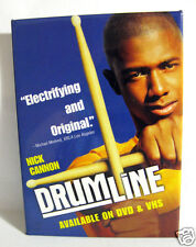 "Pinback Button Promo for Movie ""Drumline"" Nick Cannon DVD/VHS Release 2003"