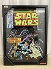 Star Wars #71 15x20 3D Glass Framed Hanging Wall Art Luke C3PO  Comic Walls New