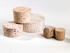 Korken aus NATURKORK, Fasskorken, Flaschenkorken  Verschiedene Durchmesser