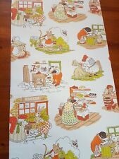 Vintage Wallpaper Childrens 'Beatrix Potter Peter Rabbit' Style