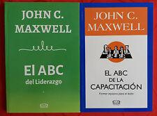 John Maxwell, Combo El ABC del Liderazgo y El ABC De La Capacitación Spanish New