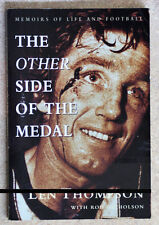 THE OTHER SIDE OF THE MEDAL Collingwood's Len Thompson