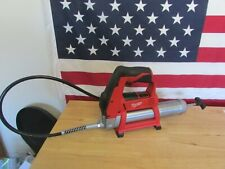 Excellent- Milwaukee 12-Volt Lithium-Ion Cordless Grease Gun (Tool-Only) 477
