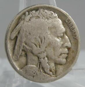 1918-D Indian Head Buffalo Nickel 5 Cents Coin C2228