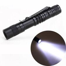 XP-1 CREE XPE-R3 LED 1000LM Lamp Clip Mini Penlight Flashlight Torch AAA 1 Mode