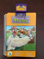 Leap Frog LeapPad Leap1 Music Mother Goose Songbook Interactive Book/Cartridge