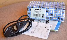 Nikon MC-20 Shutter Remote Cord in box D4 D800 D750 D610 F6 F5 MC20 D810 D850 D3