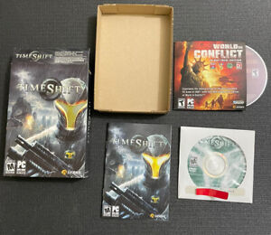 TimeShift (PC, 2007) Complete & Tested in Box