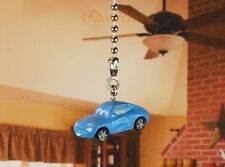 Disney Pixar Cars Sally Ceiling Fan Pull Light Lamp Chain Decoration K1257 G