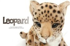 miss oh/Stuffed Plush Soft Toy Baby Leopard Stofftier realistic #3423 18*20cm