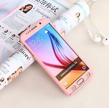 360° Full Cover Slim Hybrid PC Hard Case Cover Shell Skin For Samsung Galaxy