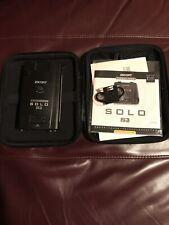 Escort Solo S3 Cordless Radar Detector Black