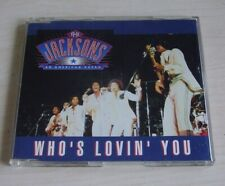 THE JACKSONS Who's Lovin' You CD Single 1992 3trk Motown