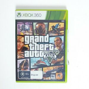 Grand Theft Auto 5 - Microsoft Xbox 360 - Free Postage + Manual
