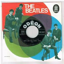 "The BEATLES  Rock and Roll Music ULTRA RARE 20007  7"" 45 tours SP"