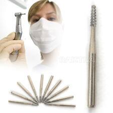 NEW 10PCs Dental High Speed Tungsten Steel Carbide burs drills FG-700 10pcs/pack