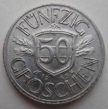 Austria 50 Groschen 1955