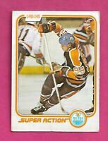 1981-82 OPC # 125 OILERS WAYNE GRETZKY SUPER ACTION GOOD CARD  (INV# D7896)