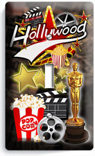 HOLLYWOOD TV ROOM HOME MOVIE STARS THEATER 1 GANG LIGHT SWITCH WALL PLATES DECOR