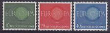 Germany 818-20 Mnh 1960 Europa Full Set Very Fine