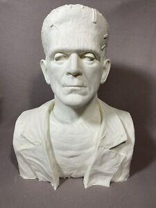 Life size Frankenstein Resin Bust