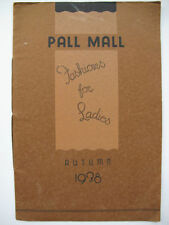 Brochure/Pamphlet 1900-1949 Antiquarian & Collectable Books