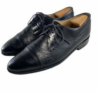 Johnston and Murphy Cap Toe Medallion Oxford  Shoes #15 3185 Mens Size Us 10.5M
