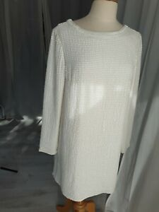 Ladies Next White Sequin Occasion Dress 12 New Embellished Mini Party Wear