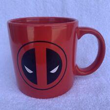Large Red Deadpool Marvel Mug Mask Deadpool Preowned