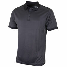 Callaway Golf Denim Jacquard Polo Shirt XL Caviar