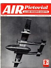 Air Pictorial Magazine 1953 May BOAC,Italian Light Aircraft,Miles Hawk,Moth