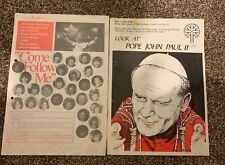 More details for pope john paul 2nd - visit to scotland 1982  - souvenir brochures x 2