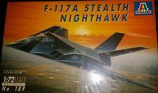 Italeri 1:72 #189 F-117A STEALTH NIGHTHAWK- NEW and SEALED