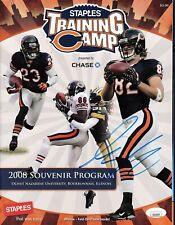 Greg Olsen signed Chicago Bears training camp program - Jsa authenticated